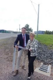 With Liberal Member for Braddon, Joan Rylah MP