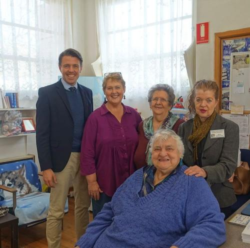 Visiting the dedicated volunteers at the Derwent Valley Information Centre