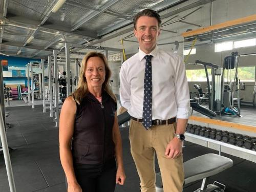 Catching up with Christine Gaby, Owner of Healthy Horizons Gym, Dodges Ferry