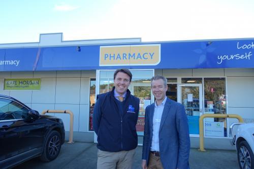 With Shane Jackson, Proprietor, Tasman Chemmart Pharmacy