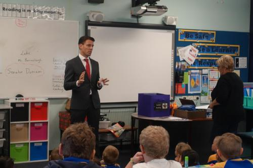 Visiting New Norfolk Primary